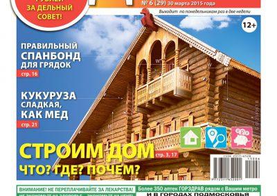 №6(29). Строим дом