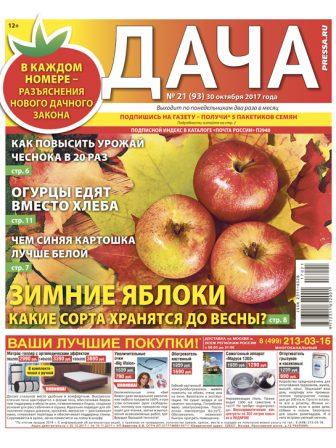 №21 (93) Зимние яблоки