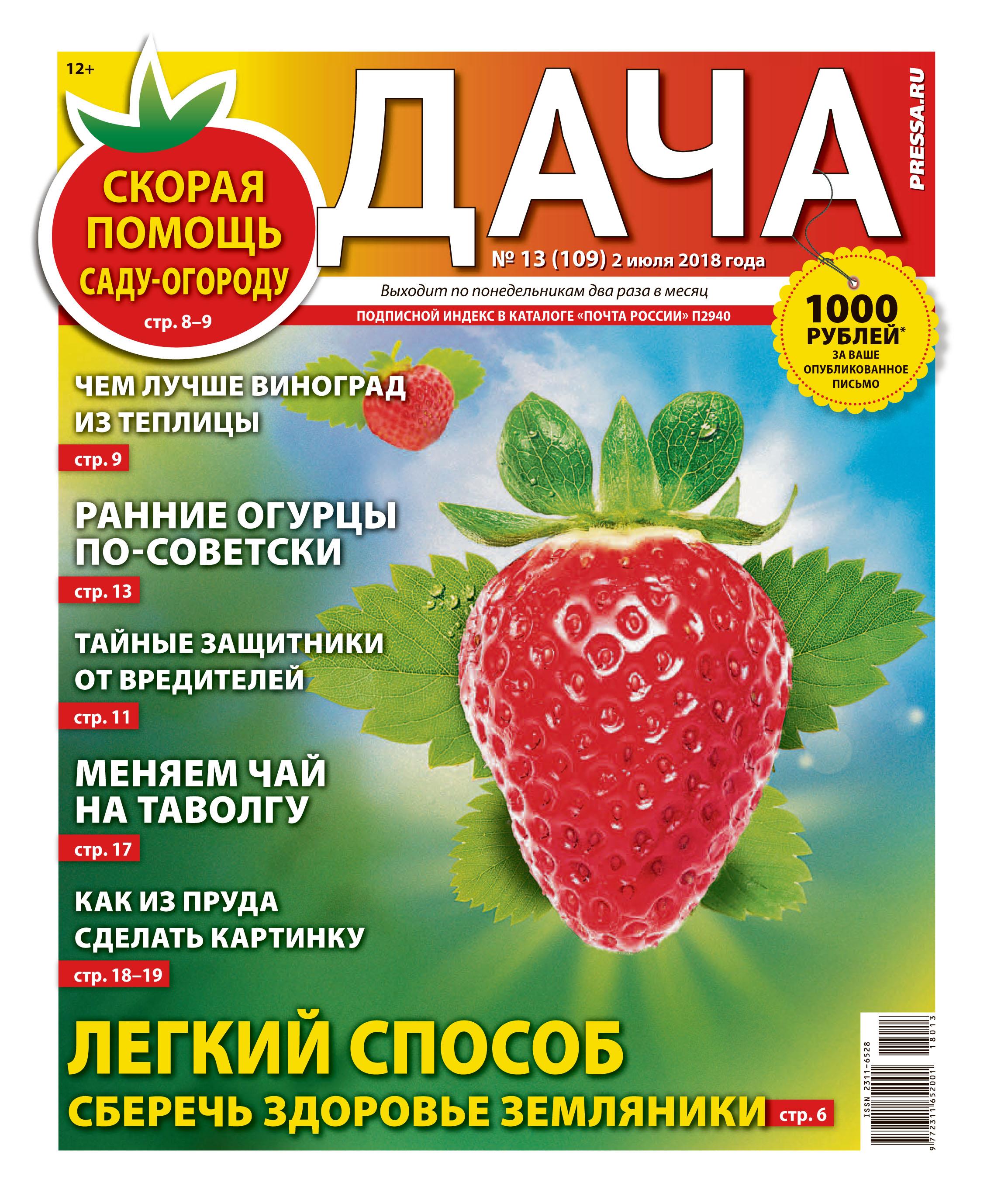 №13 (109) Легкий способ сберечь здоровье земляники